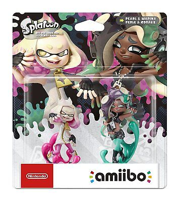Pearl and Marina Off the Hook Set Amiibo (Splatoon Collection) for Nintendo S...