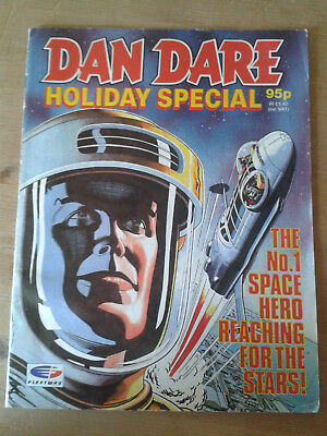Dan Dare Holiday Special 1990 Eagle Comic Fleetway