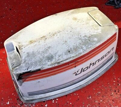 25 Hp Johnson Outboard 2 Stroke Engine Shroud Cover