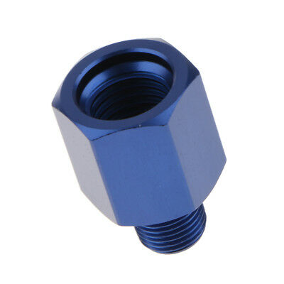 Aluminum Alloy M12x1.5 to 1/8NPT Female Fuel Adapter Connector Quick Connect
