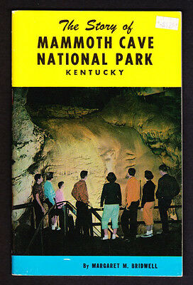 Kentucky: The Story Of Mammoth Cave National Park 1952 Vintage Souvenir Book