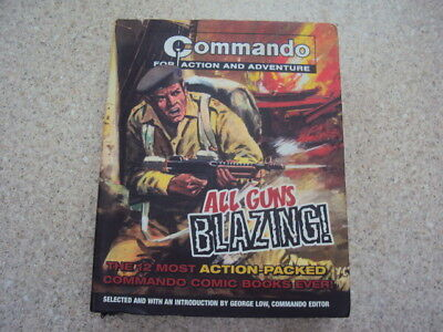 Commando All Guns BLAZING The 12 Most Action Packed Comic Books EVER!