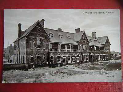 Redcar: Convalescent Home - Scarce Early Real Photo Postcard!