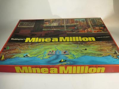 REPLACEMENT PLAYING PIECES Vintage Waddington's Board Game Mine a Million