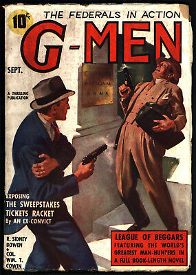G-Men Vol Viii #3, Sept 1937