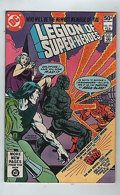 Legion Of Super Heroes # 272 + 14 Page Dial 'h ' For Hero ( Ditko Art - 1981)