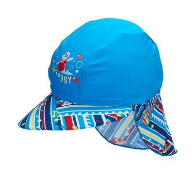 Zoggs Zoggy Children' Sun Protection Hat with Neck Flap ( UPF 50 - Beach Pool