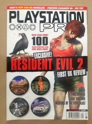 PlayStation Pro Magazine. April 1998. Issue 19. PS1