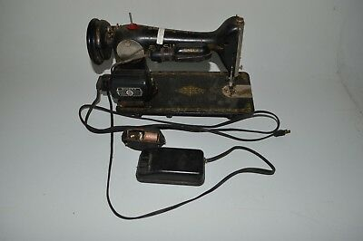 Vintage Antique Singer Sewing Machine Desk Table Mount Model 66* BA-3-8 Motor