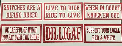 Hells Angels RSIDE - Support Stickers Group 10