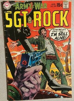 OUR ARMY AT WAR #209 Sgt. Rock (1969) DC Comics VG