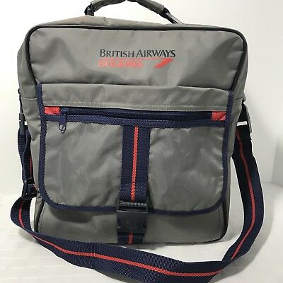 British Airways Holidays Gray Carry On Shoulder Bag Travel A