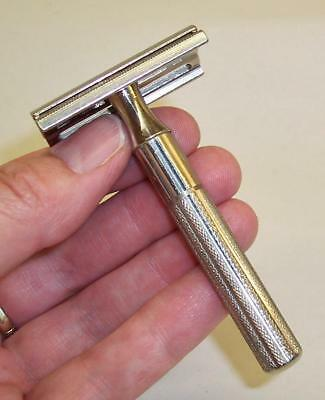 Vintage GILLETTE 3 Piece SAFETY RAZOR - 42.5g - Kit Bag/Travelling