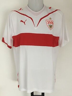 Stuttgart 2009/10 S/s Unsponsored Home Shirt By Puma Size Adult Large Brand New