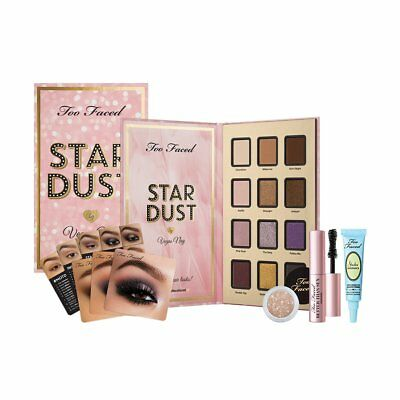 TOO FACED* Box Collection STAR DUST Shadow+Mascara+Primer VEGAS NAY Makeup Set