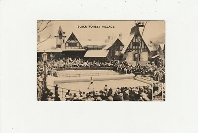 Black Forest Village 1934, A Century of Progress Chicago,  beschriebene AK