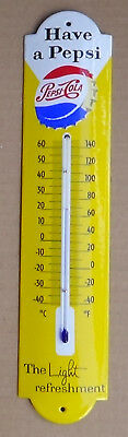 Emaille Thermometer Pepsi