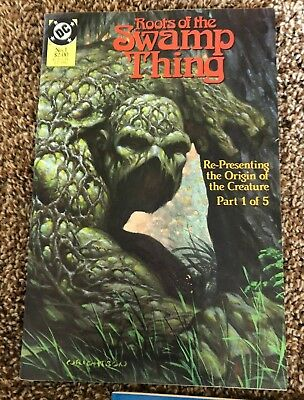 ROOTS OF THE SWAMP THING #1-5 - Complete Series - Origin by Wrightson/Wein NM-