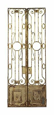 French Chateau Wrought Iron Tall Entry Doors or Gates
