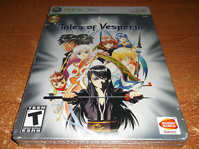 NEW Tales of Vesperia -- Special Edition Microsoft Xbox 360 Limited Game