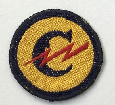 German Made European Constabulary Shoulder Patch