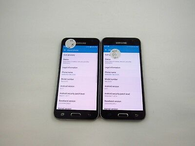 Lot of 2 Samsung Galaxy J36V J320V Verizon Check IMEI Good Condition 4-1256