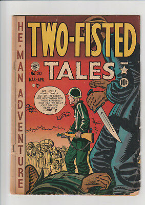 Two-Fisted Tales #20 (March 1951, EC) G+ EC Comic