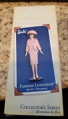 Hallmark 2005 Christmas Ornament ~ Barbie Fashion Luncheon ~