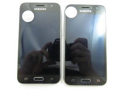Lot of 2 Samsung Galaxy Amp 2 J120AZ Cricket Check IMEI Good Condition 4-406