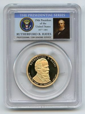 2011 S $1 Rutherford B Hayes Dollar PCGS PR70DCAM