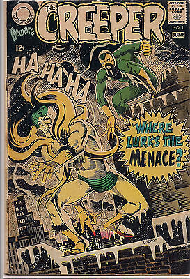 Beware the CREEPER 1 Steve Ditko art 1968 DC Silver Age 12 cent CoVeR GD New 52