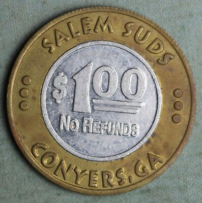 Car Wash Mule Token~ Conyers,Ga & Covington,Ga~Salem Suds & Quick Wash~ 1 Dollar
