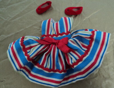 8 Inch Betsy Mc Call Outfit Fiesta Fun Dress And  Shoes Very Nice ~~
