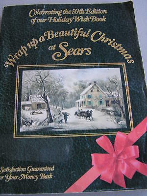Vintage 1982 50th Edition Sears Holiday Wish Book 10% Discount & Order Blank