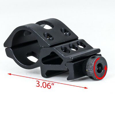 45° Side Offset 30mm Ring Barrel Picatinny 20mm Rail Mount For Scope