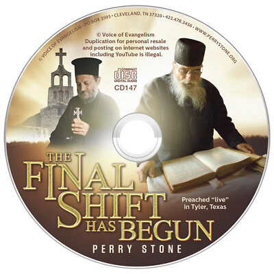 "PERRY STONE""The Final Shift Has Begun-Are We the Final Dispensation? ""-CD New"