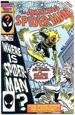 Amazing Spider-Man 279 NM+ 9.6 Jack O'Lantern, Silver Sable cover/story
