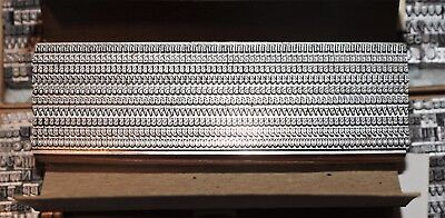 8pt Times Numbers , Letterpress Metal Type # ADANA EIGHT FIVE  8 x 5 user