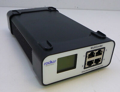 Radius 47433 2 Circuit / 4 Channels ISDN2 Telephone Call Recording System