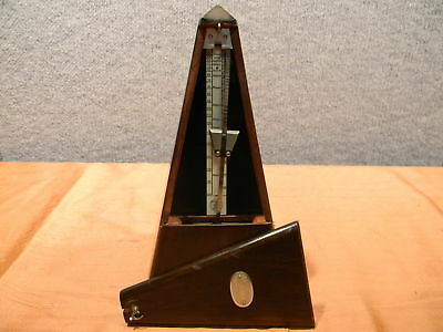 USED Tested Antique Maelzel Paquet 1815-1846 Metronome 9 Inches Tall(450)