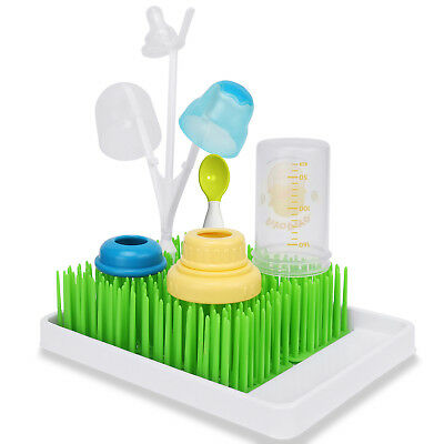 Baby Infant Lawn Grass Countertop Drying Rack Clean Holder for Bottle Nipple