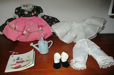 Madame Alexander Mary Mary Outfit  & Black Shoes For 8 Inch Doll