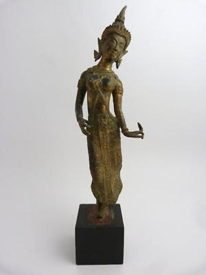 Thai Gilt Bronze Figure Of Ramakien Dancer, 19Th Century