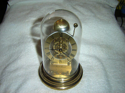 Vintage Kundo Quartz Made In Germany Small Clock With Chime Bell Very Unique
