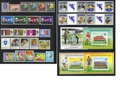 (548) Swaziland Mostly Qeii Mh Collection Cat £48+