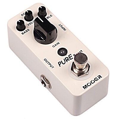 Mooer Pure Boost Micro Guitar Effects Pedal
