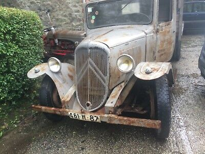 Citroen Truck. Classic Pick Up Barn Find