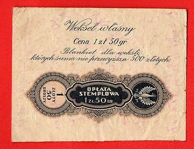 Poland 1 Zloty 50 Groszy Vintage Cover 145