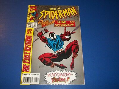 Web of Spider-man #118 1st Solo Clone Story key