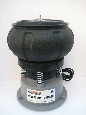Reloading Central Machinery 5 LB Vibratory Tumbler Cleaning and Polishing